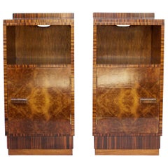 Pair of Art Deco Bedside Cabinets, circa 1930