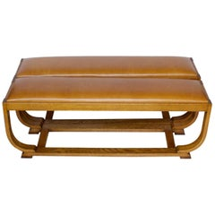 Pair of Art Deco Benches by Shepherd & Hedger, English, circa 1920