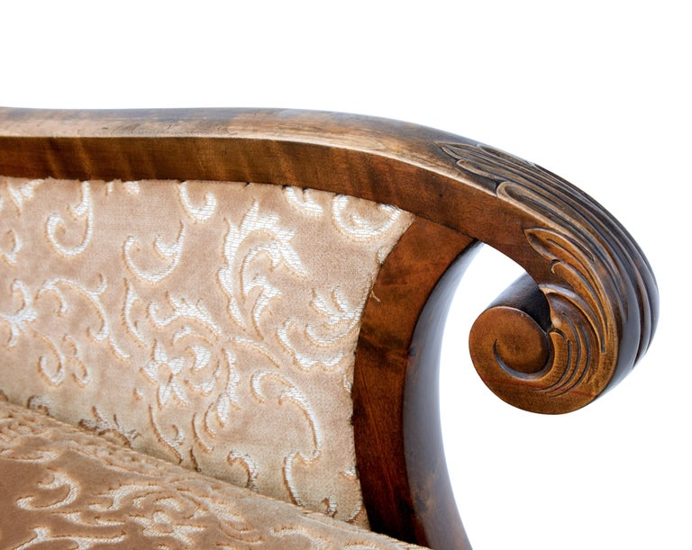 Pair of Art Deco Birch Scandinavian Armchairs In Good Condition For Sale In Debenham, Suffolk