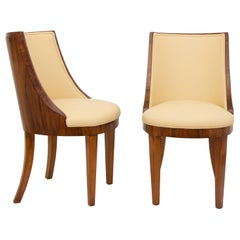 Pair of Art Deco Chairs by Hille