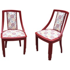 Pair of Art Deco Chairs, circa 1930