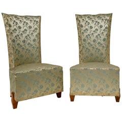 Pair of Art Deco Chairs, Paris, 1920s, Original Condition