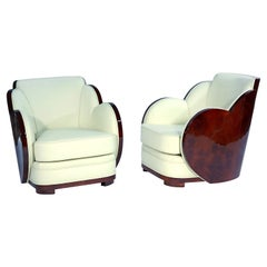 Pair of Art Deco Cloud Chairs