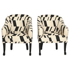 Pair of Art Deco Easy Chairs