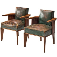 Pair of Art Deco French Dining Chairs