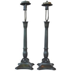 Pair of Art Deco Just Andersen Table Lamps