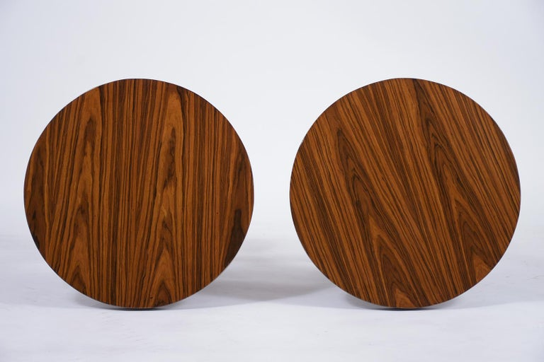 Pair of Vintage Art Deco Side Tables For Sale 4
