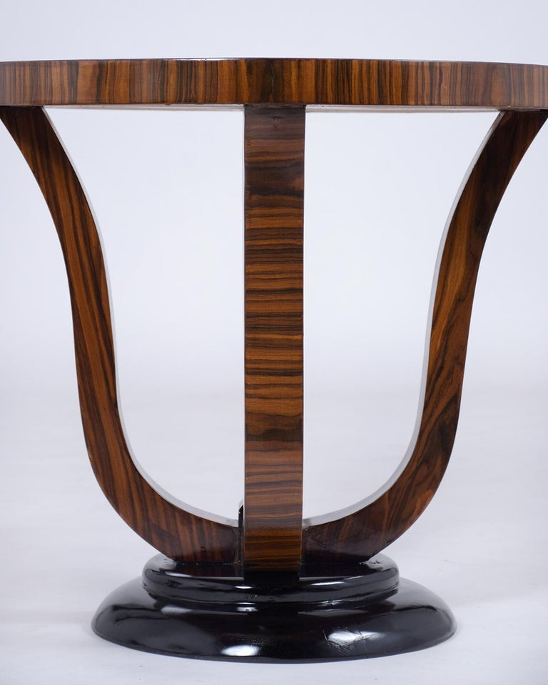 Pair of Vintage Art Deco Side Tables For Sale 1