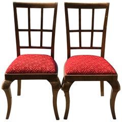 Pair of Art Deco Original Chairs