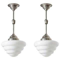 Art Deco Chandeliers and Pendants