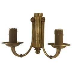 Pair of Art Deco Sconces with Two Lights