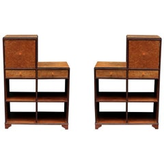 Pair of Art Deco Skyscraper Cabinets