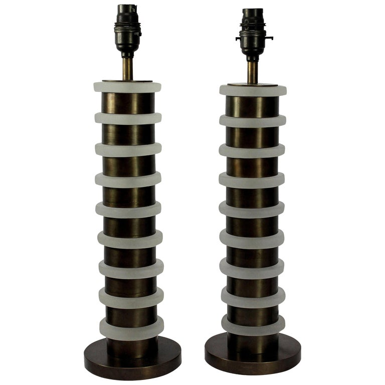 Pair of Art Deco Style Table Lamps