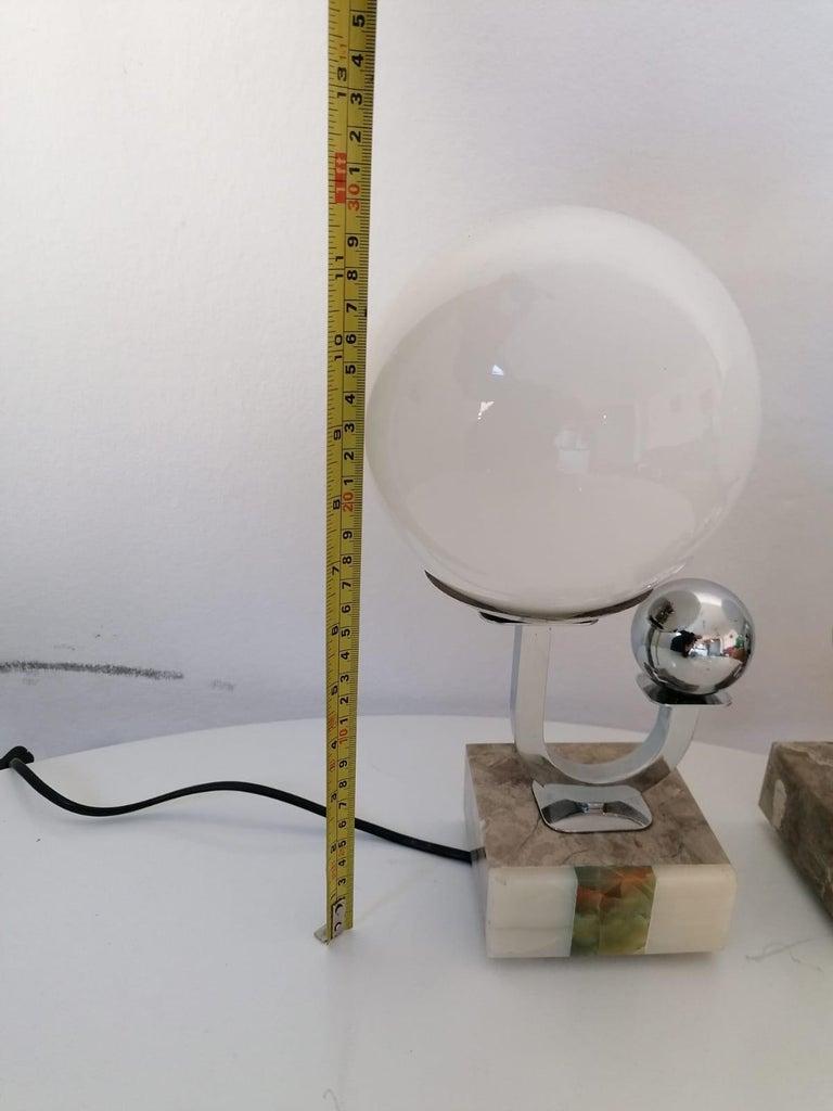 Austrian Pair of Art Deco Table Lamps For Sale