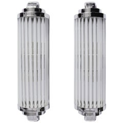 Pair of Art Deco Wall Lamps