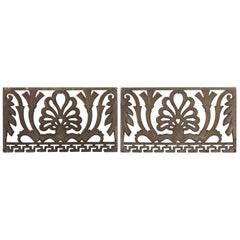 Pair of Art Nouveau Architectural Panels, Early 20th Century