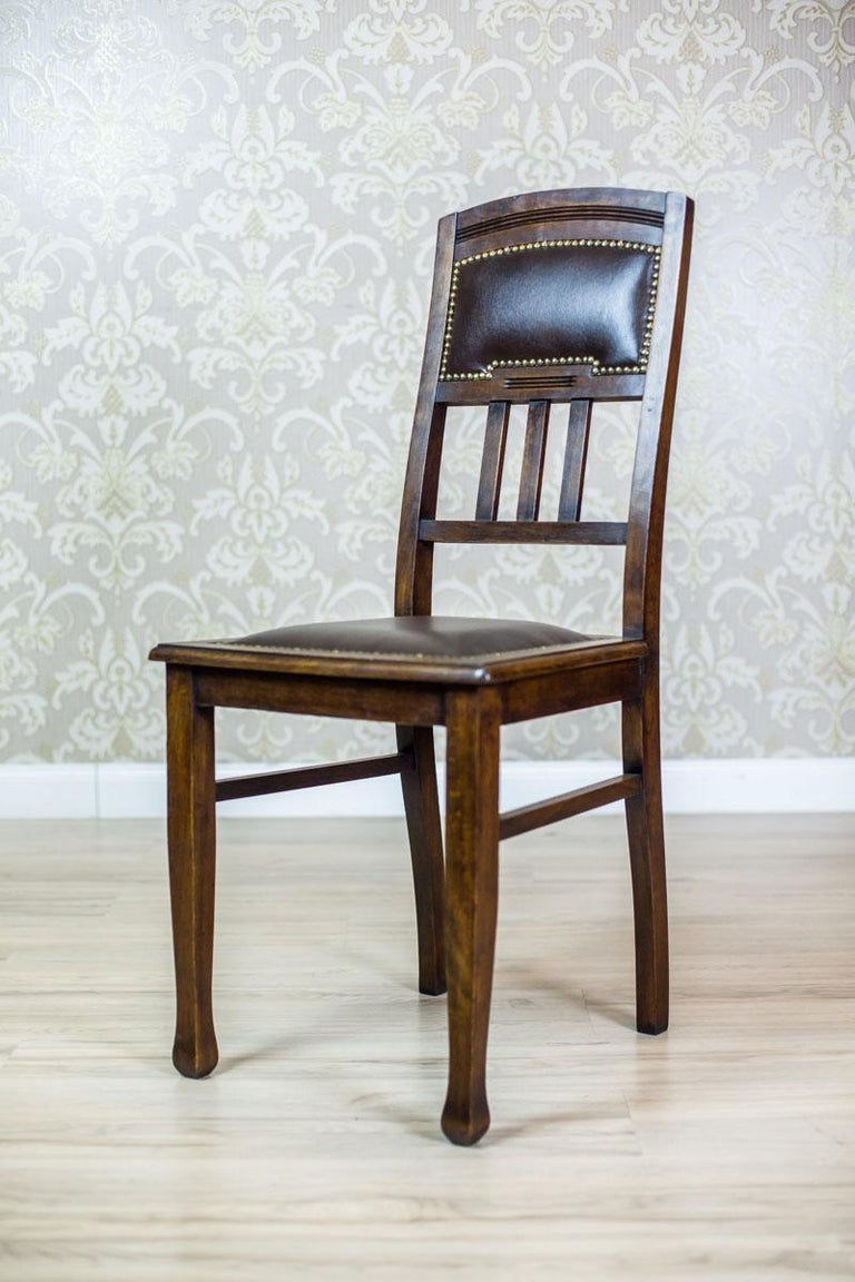Polish Pair of Art Nouveau Chairs from the Early 20th Century For Sale