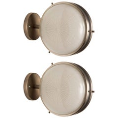 Pair of Artemide Sconces, Sergio Mazza, circa 1962