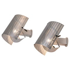 Pair of Artemide Shogun Wall Lights by Mario Botta, 1980s