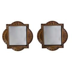 Pair of Arts & Crafts Mirrors