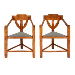 Pair of Arts & Crafts 'Warwick' Chairs
