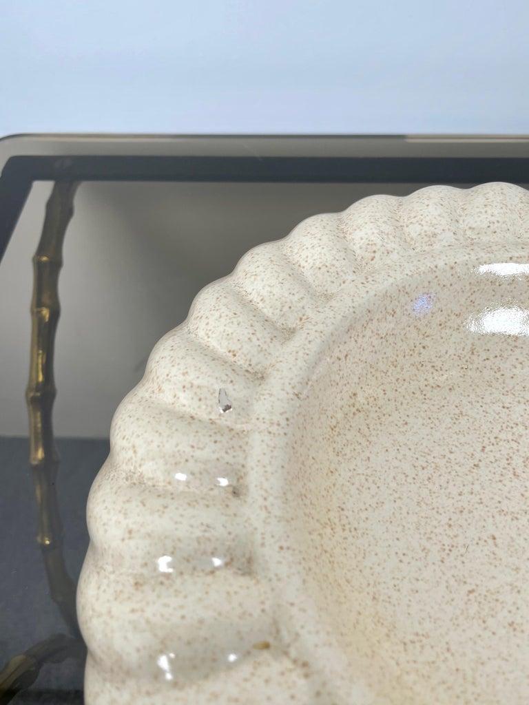 Pair of Ashtray Ceramic Vide-Poche by Tommaso Barbi for B Ceramiche, Italy 1970s For Sale 5