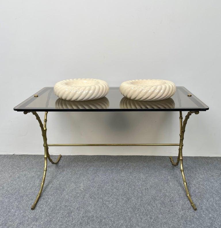Pair of Ashtray Ceramic Vide-Poche by Tommaso Barbi for B Ceramiche, Italy 1970s For Sale 1
