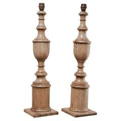 Pair of Ashwood Lamps