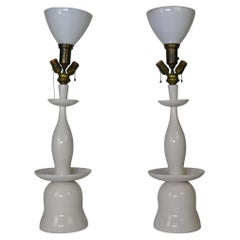 Pair of Asian Style Lamps