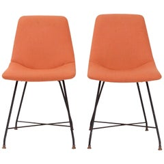 Pair of 'Aster' Chairs by Augusto Bozzi, Italy, circa 1956