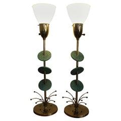 Pair of Atomic Rembrandt Lamps