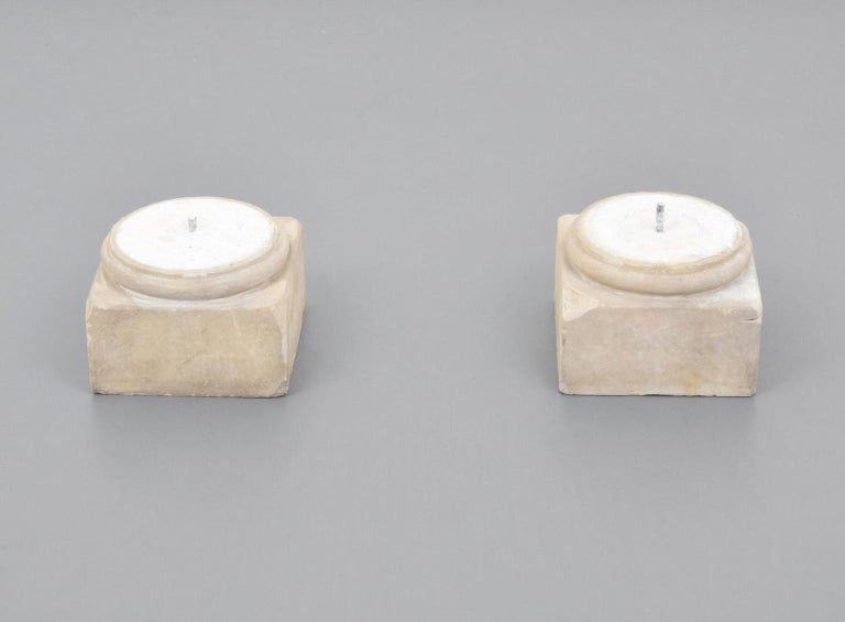 Pair of Attica Marble Greek Columns For Sale 1