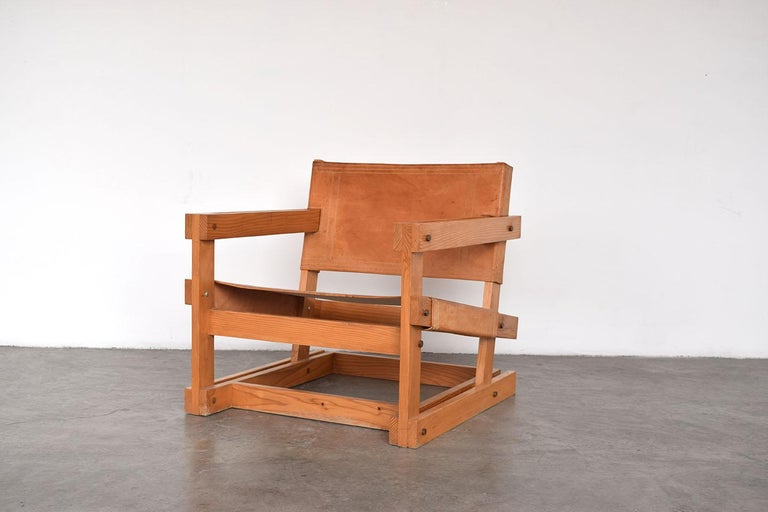 Hand-Crafted Pair of Attolini Chairs by Mexican Architect Antonio Attolini For Sale