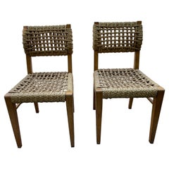 Pair of Audoux Minet Side Chairs