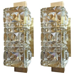 Pair of Austrian 1950s Kinkeldey Wall Lights