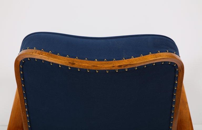 Pair of Austrian Art Deco Armchairs 11