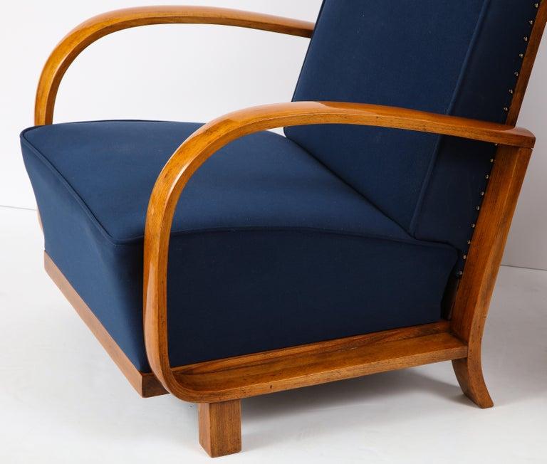 Pair of Austrian Art Deco Armchairs 1