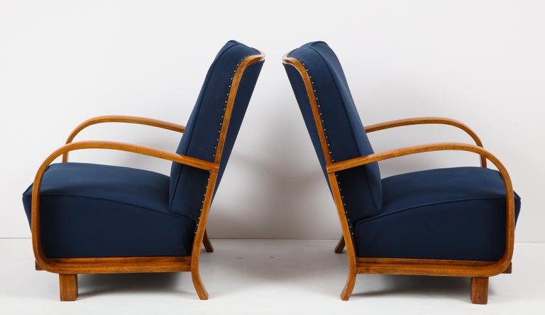 Pair of Austrian Art Deco Armchairs 3