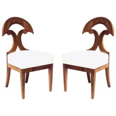 Pair of Austrian Biedermeier Side Chairs