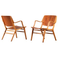 "Pair of ""Ax-chair"" by Peter Hvidt & Orla Mølgaard Nielsen, Denmark, 1950s"