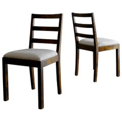 "Pair of Axel Einar Hjorth ""Typenko"" Chairs for Nordiska Kompaniet, Sweden, 1930s"
