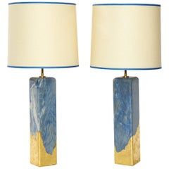 "Pair of ""Azula"" Lamps by Arriau"