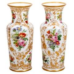 Pair of Baccarat Vases