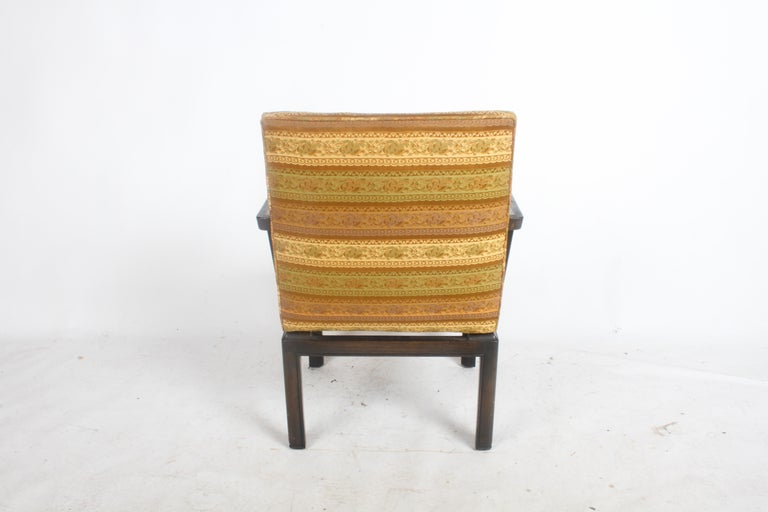 Pair of Baker Far East Greek Key Dining or Occasional Chairs For Sale 3