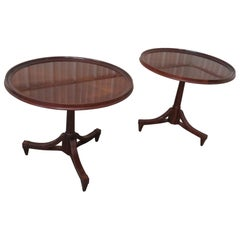 Pair of Baker Furniture Center Tables