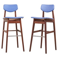 Pair of Bar Stools by Jens Risom, US, 1960s
