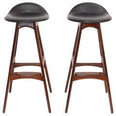 Pair of Bar Stools, circa 1950
