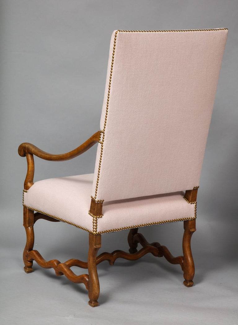 Pair of Baroque Armchairs For Sale 9
