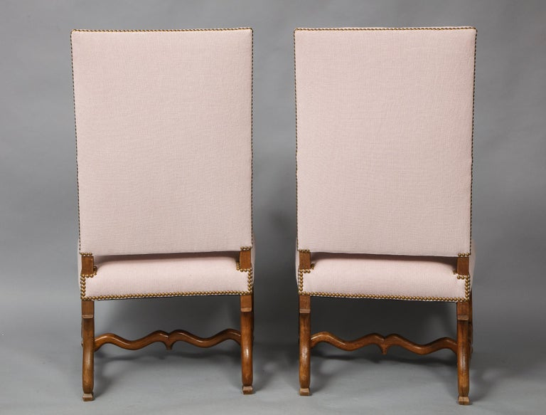 Pair of Baroque Armchairs For Sale 10