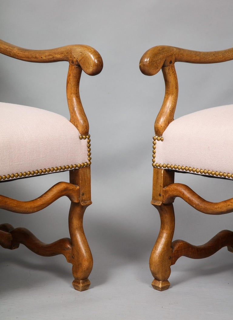 Pair of Baroque Armchairs In Good Condition For Sale In New York, NY